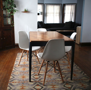 Clifton Dining Table | minimalist solid wood table