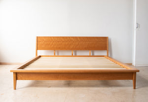 Josefine Bed - Solid Wood Platform Bed