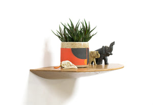 All-Round Shelf | small wood floating shelf