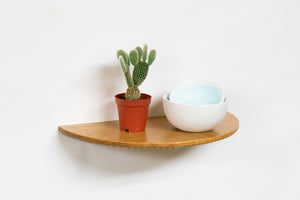 Sea Shelf | small wood floating shelf
