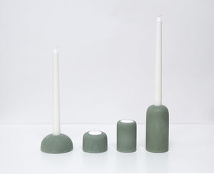 Cast Concrete Candle Holders