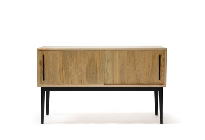 Record Cabinet | sliding door sideboard