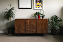 Load image into Gallery viewer, SLW Cabinet | modern walnut sideboard