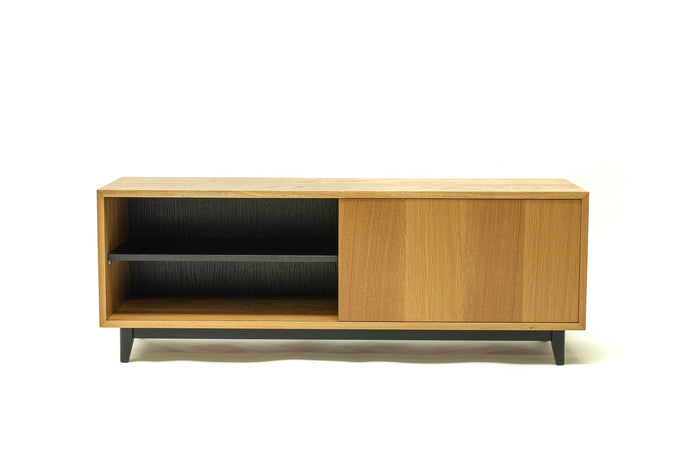 Low-Profile Media Console | Sliding door