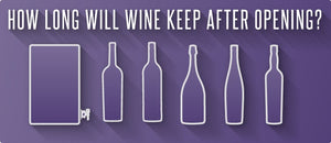 How Long Will Wine Keep After Opening?