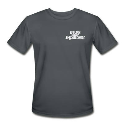 Men's Moisture Wicking Performance T-Shirt - charcoal