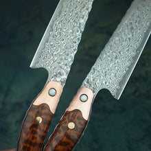 Load image into Gallery viewer, VG10 Handmade Damascus Steel Sushi Fillet Knife