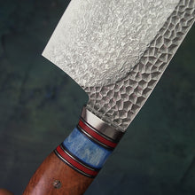 Load image into Gallery viewer, Damascus VG10 Steel Cleaver Knife