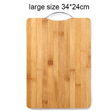 Load image into Gallery viewer, Bamboo Wooden Cutting Board - KJ Cutlery