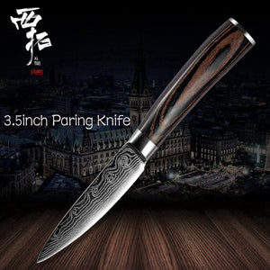 Xituo Stainless Steel Paring Knife-3.5 Inch - KJ Cutlery