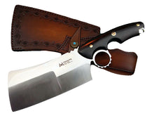 Load image into Gallery viewer, Heavy Duty Dual-purpose Chef Cleaver Knife W/Sheath