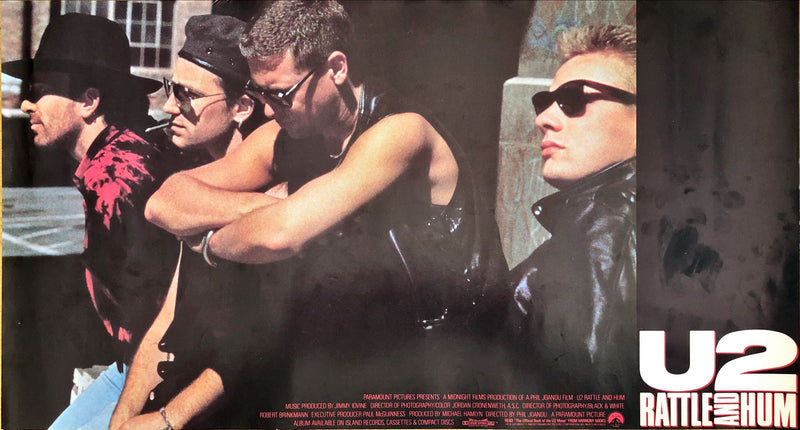 U2 - Rattle And Hum Poster (60.5x33cm)