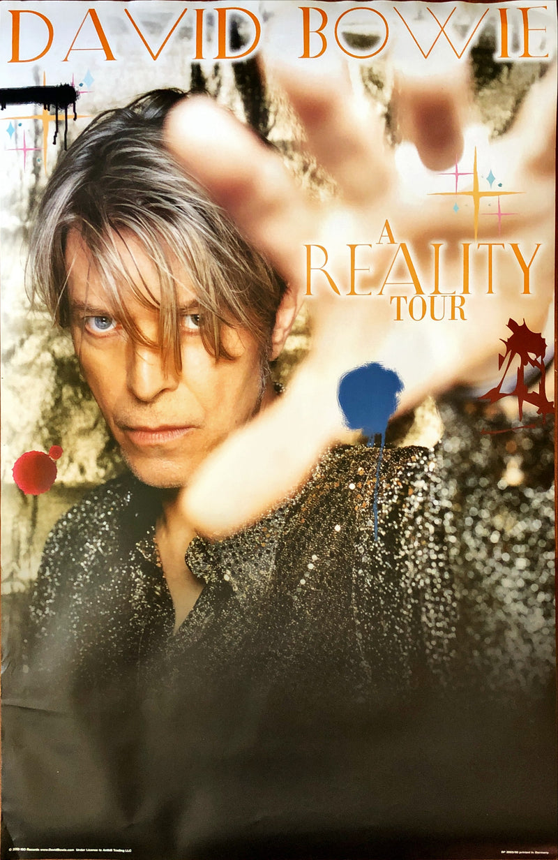 David Bowie - A Reality Tour Poster (62x92.5cm)