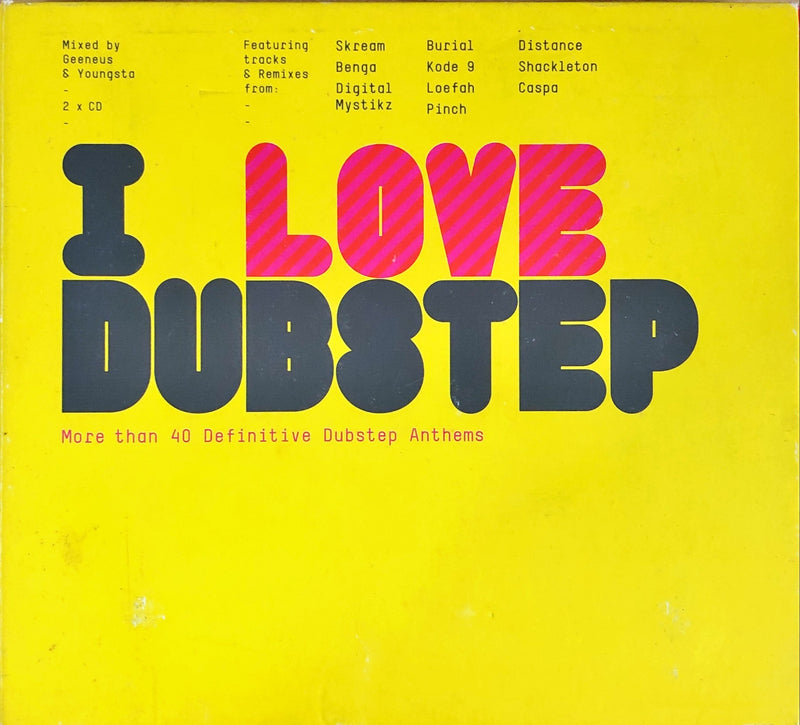 Geeneus & Youngster - I Love Dubstep (2CD)