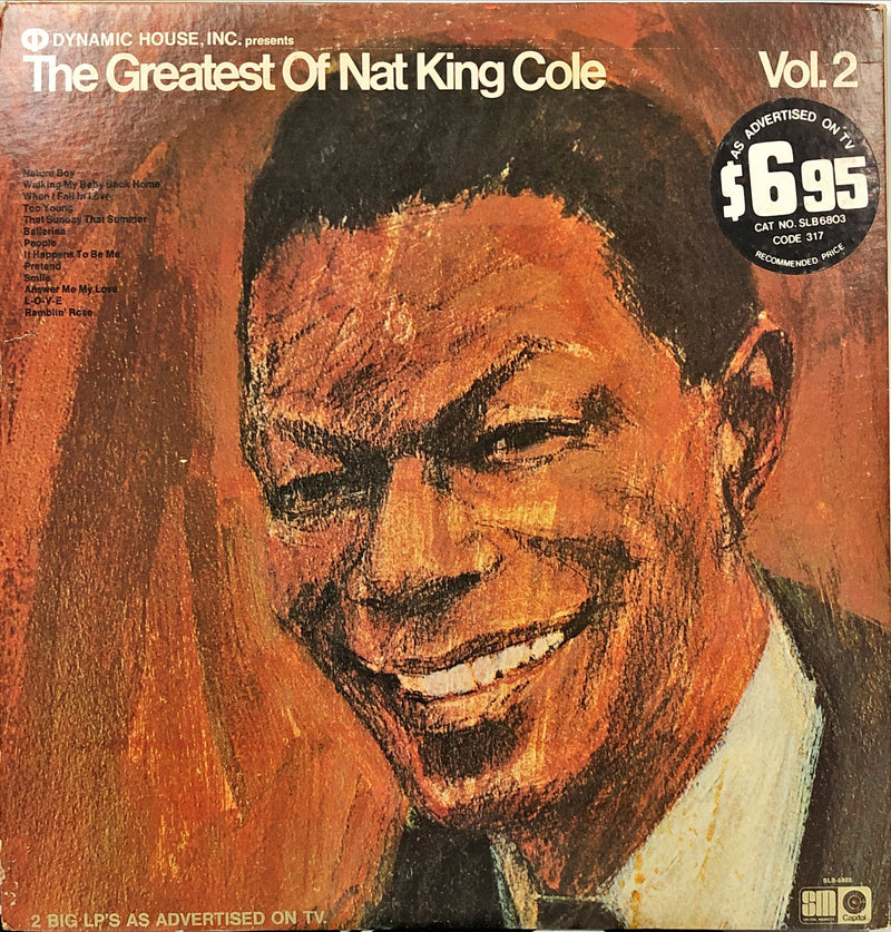 Nat King Cole - The Greatest Of Nat King Cole (Vinyl 2LP)[Gatefold]