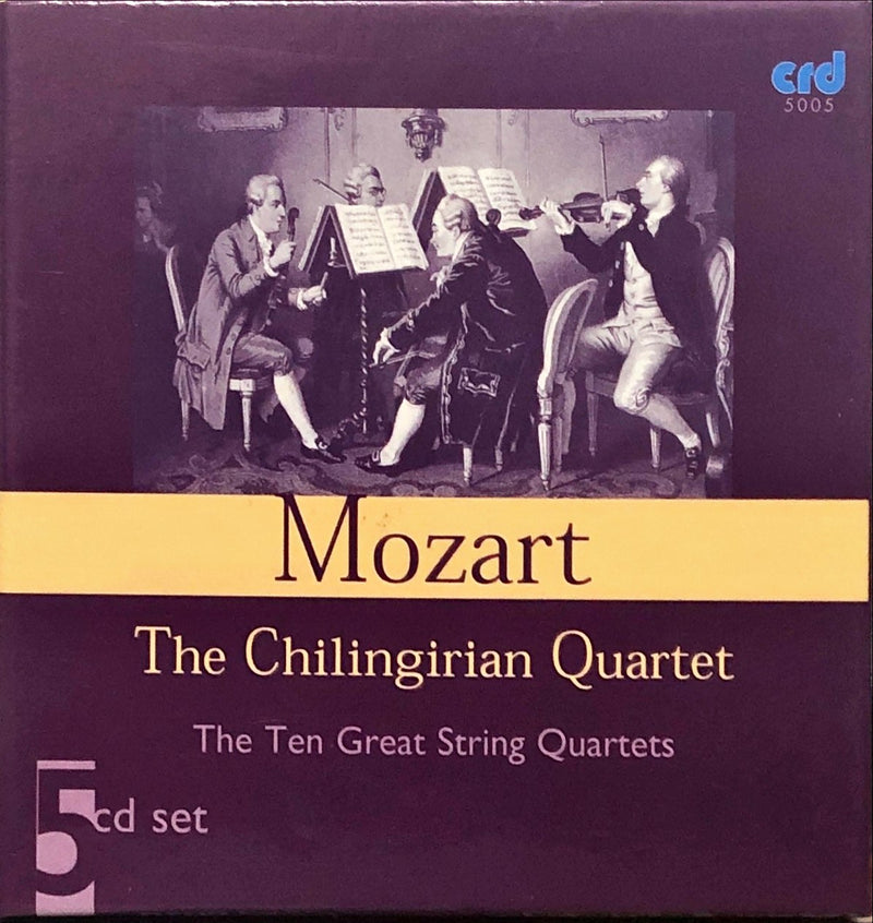 Mozart, The Chilingirian String Quartet - The Ten Great String Quartets (5CD Boxset)