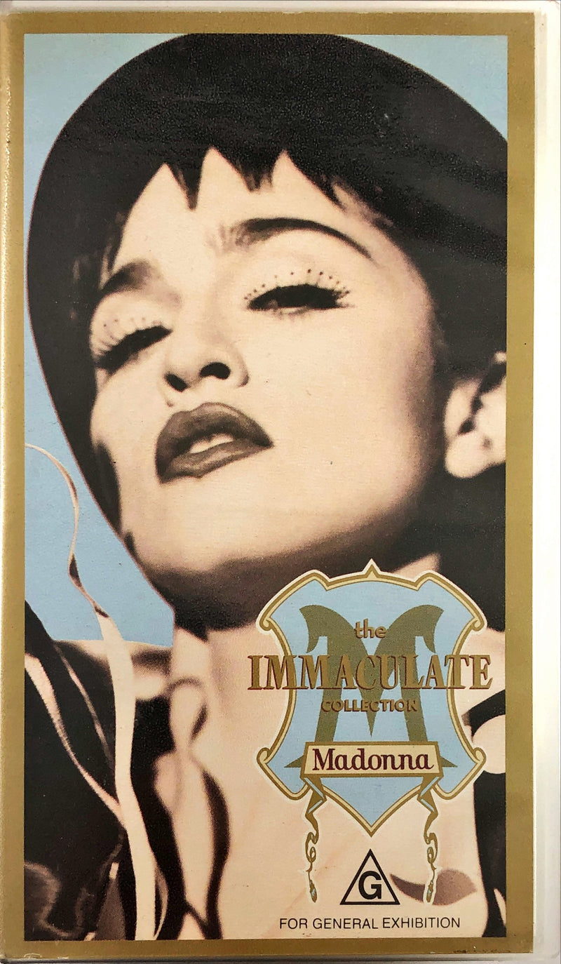 Madonna - The Immaculate Collection (VHS)