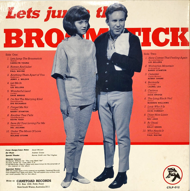 Lets Jump The Broomstick (Various)(Vinyl LP)[Gatefold]