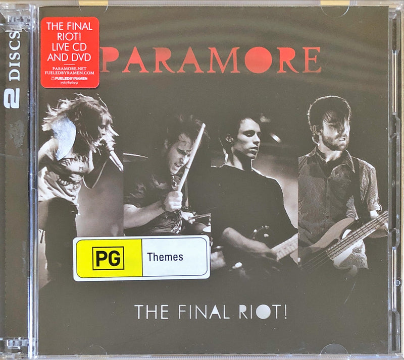 Paramore - The Final Riot! (CD + DVD)