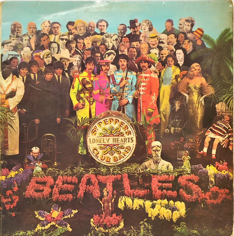 The Beatles ‎– Sgt. Pepper's Lonely Hearts Club Band (Vinyl LP)(Mono)[Gatefold][UK]