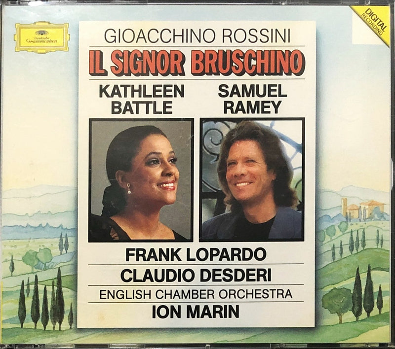 Gioacchino Rossini - Kathleen Battle • Samuel Ramey • Frank Lopardo • Claudio Desderi • English Chamber Orchestra • Ion Marin - Il Signor Bruschino (CD)(DDD)
