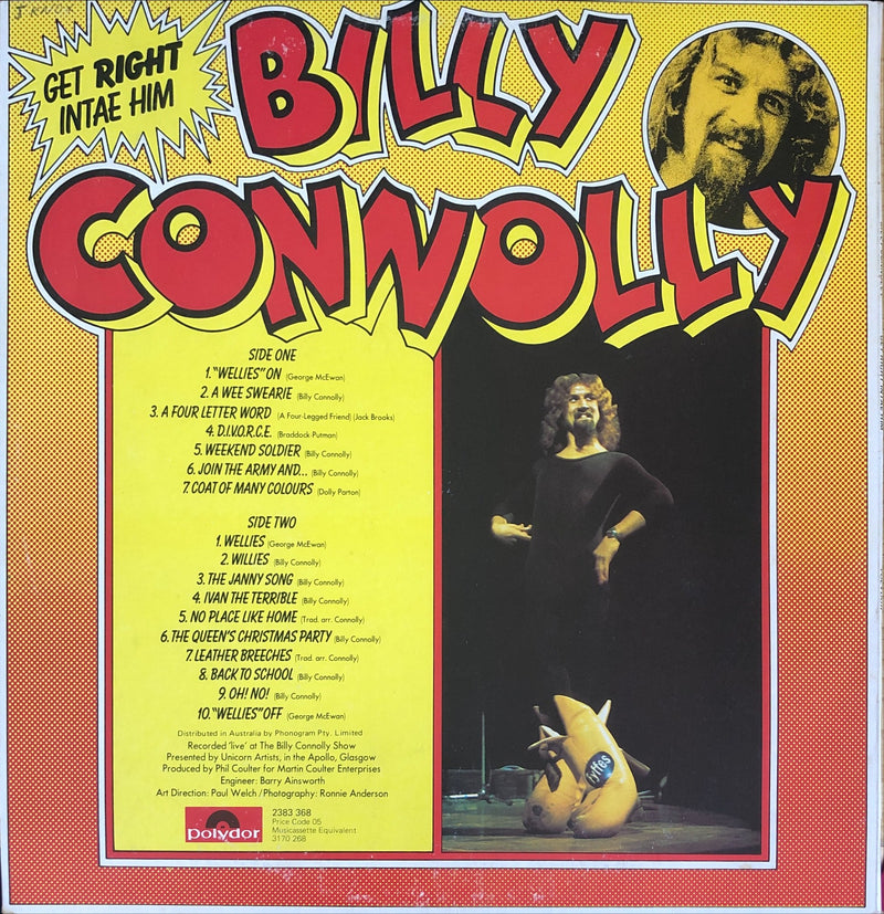 Billy Connolly - Get Right Intae Him