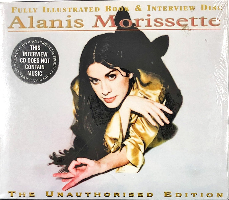 Alanis Morissette - Fully Illustrated Book & Interview Disc (The Unauthorized Edition) (CD)