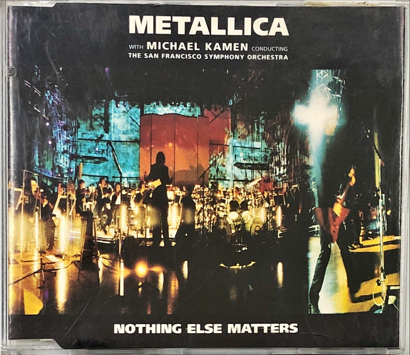 Metallica With Michael Kamen Conducting The San Francisco Symphony Orchestra - Nothing Else Matters (CD Single)