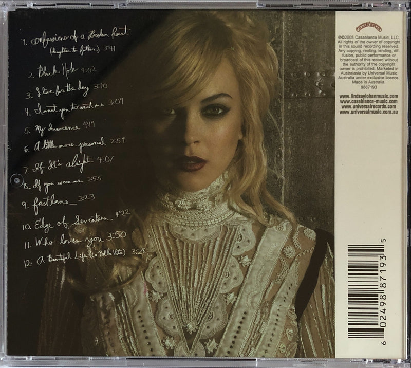 Lindsay Lohan - A Little More Personal (RAW) (CD)