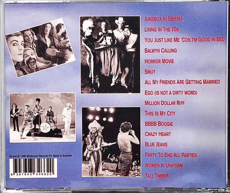 Skyhooks - The Latest And Greatest (CD)