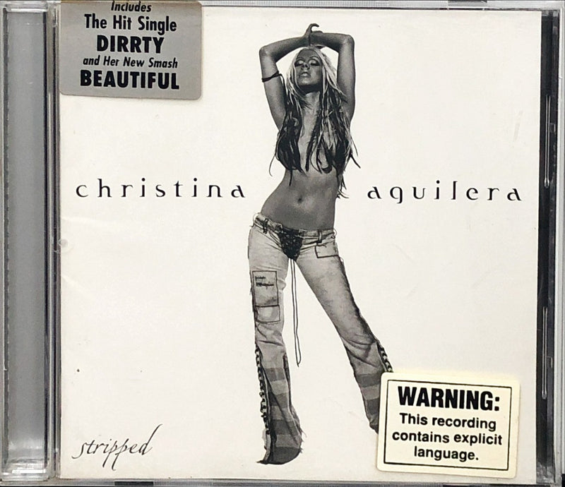 Christina Aguilera ‎- Stripped (CD)