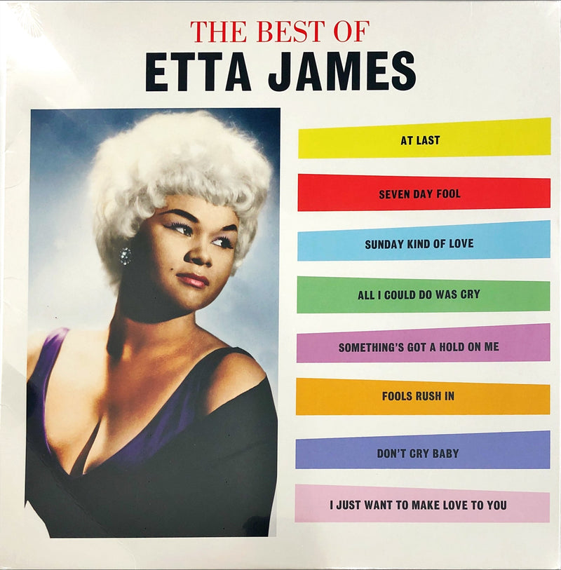 Etta James - The Best Of (Vinyl LP)