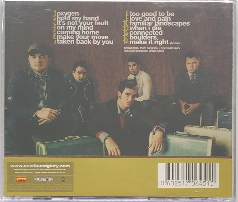 New Found Glory - Coming Home (CD)
