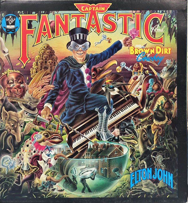 Elton John -  Captain Fantastic And The Brown Dirt Cowboy (Vinyl LP)