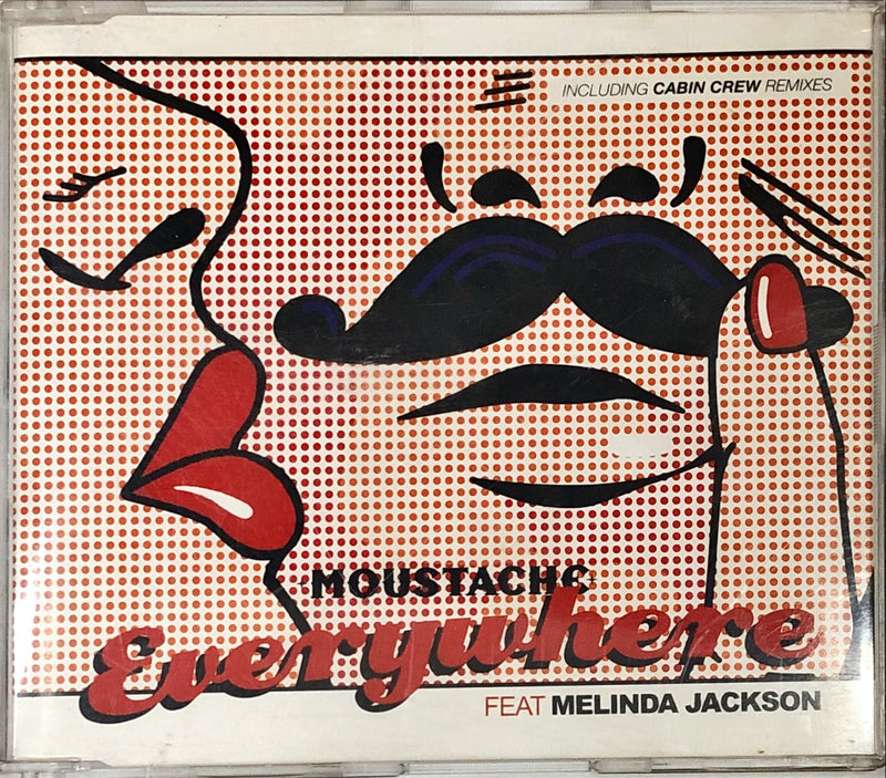 Moustache (Ft. Melinda Jackson) - Everywhere (CD Single)