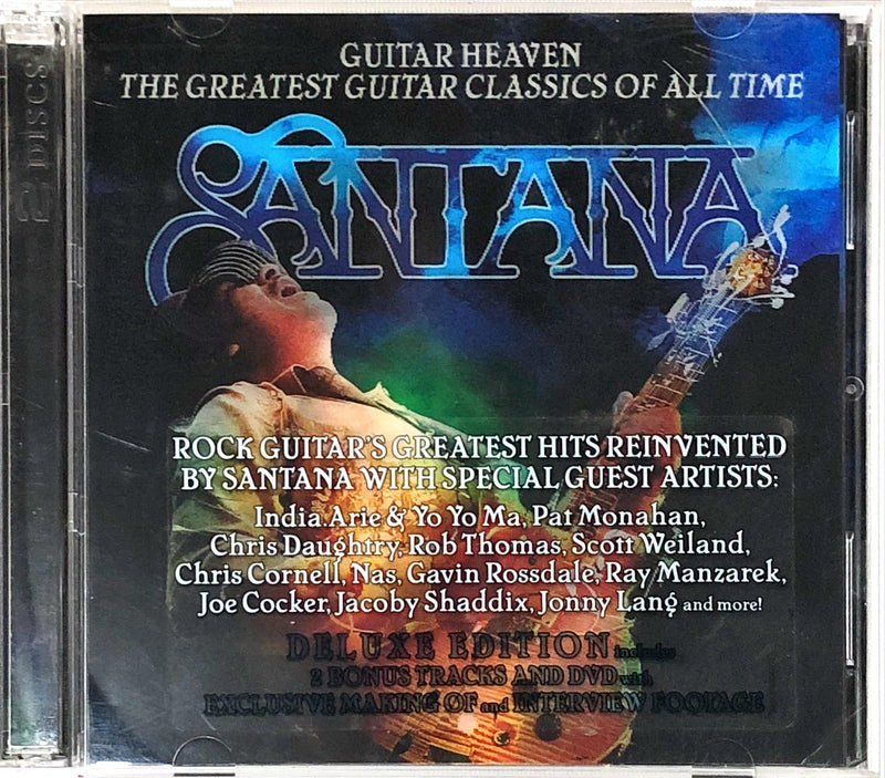 Santana - Guitar Heaven: The Greatest Guitar Classics Of All Time (CD, DVD)