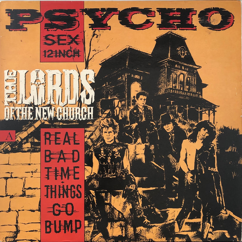 "The Lords Of The New Church - Psycho Sex 12 Inch (12"" Single)"