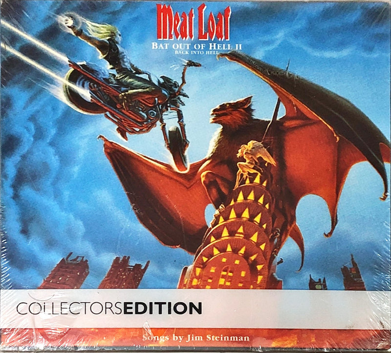 Meat Loaf ‎– Bat Out Of Hell II: Back Into Hell (2CD, DVD)(Limited Edition, Reissue)
