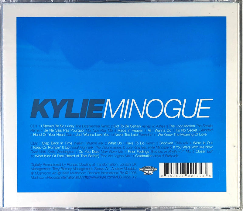 Kylie Minogue - Greatest Remix Hits 1 (2CD)(Reissue)
