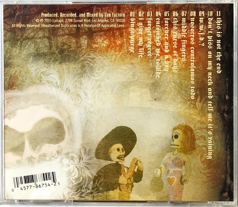 Death By Stereo - Death For Life (CD)