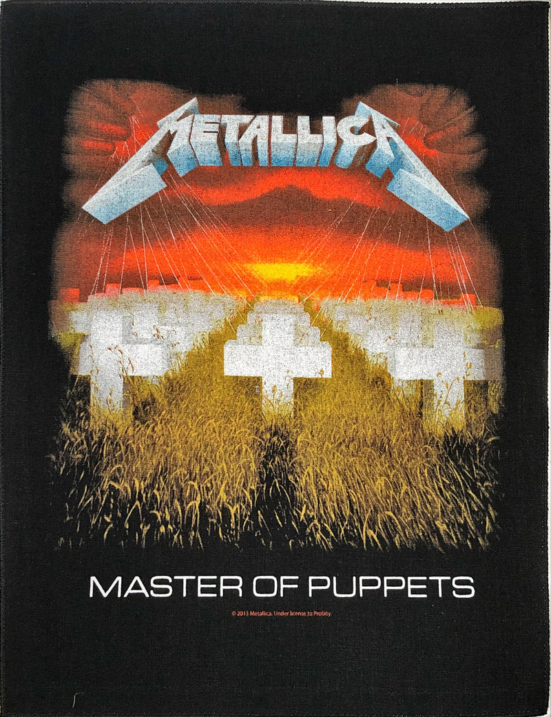 Metallica - Master Of Puppets (Back Patch)