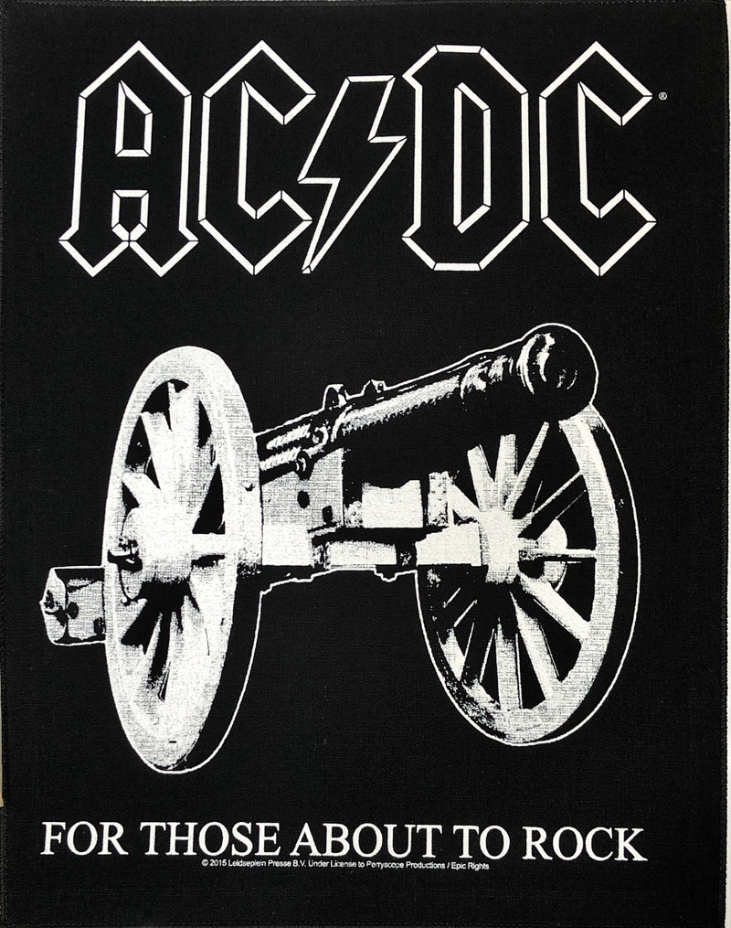 AC/DC - For Those About To Rock (Back Patch)