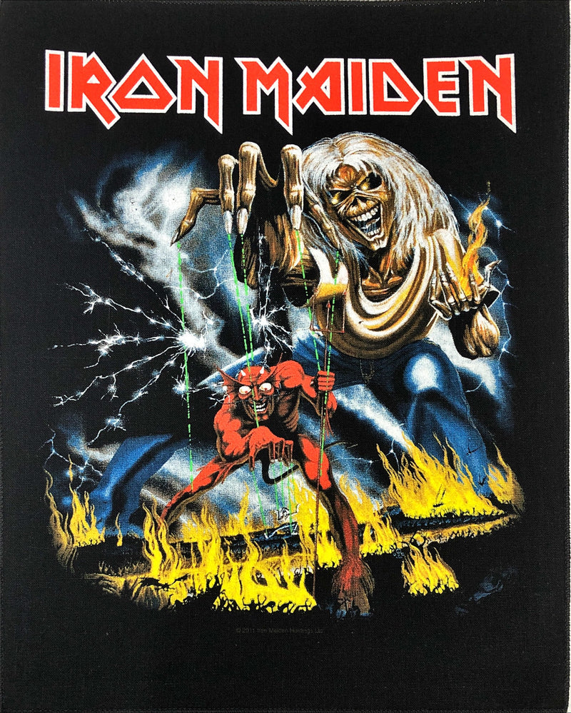 Iron Maiden - Number Of The Beast (Back Patch)