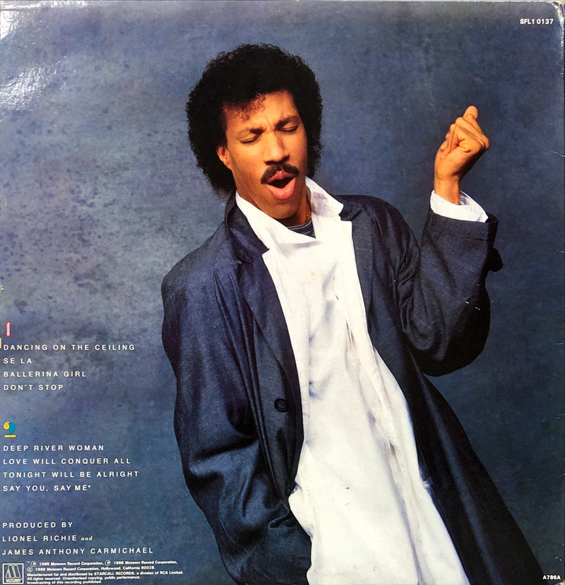 Lionel Richie - Dancing On The Ceiling (Vinyl LP)[Gatefold]