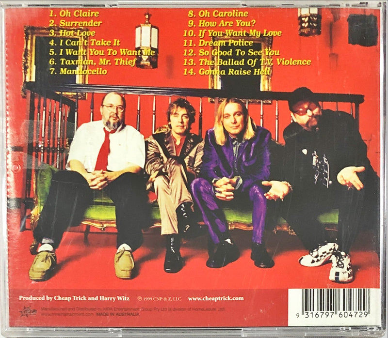 Cheap Trick - Music For Hangovers (CD)