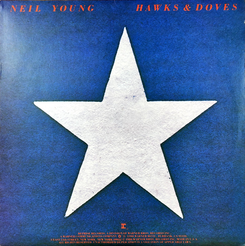 Neil Young - Hawks & Doves (Vinyl LP)