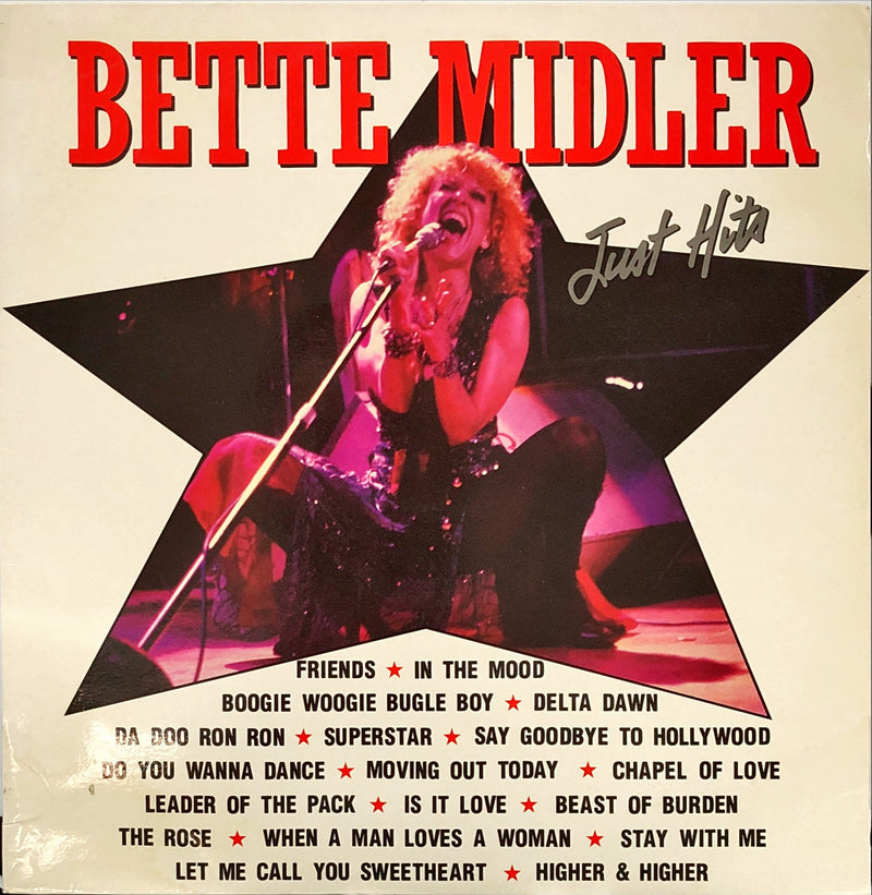 Bette Midler - Just Hits (Vinyl LP)