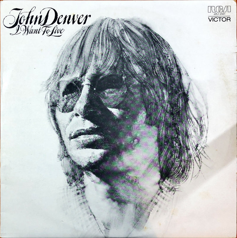 John Denver - I Want To Live (Vinyl LP)