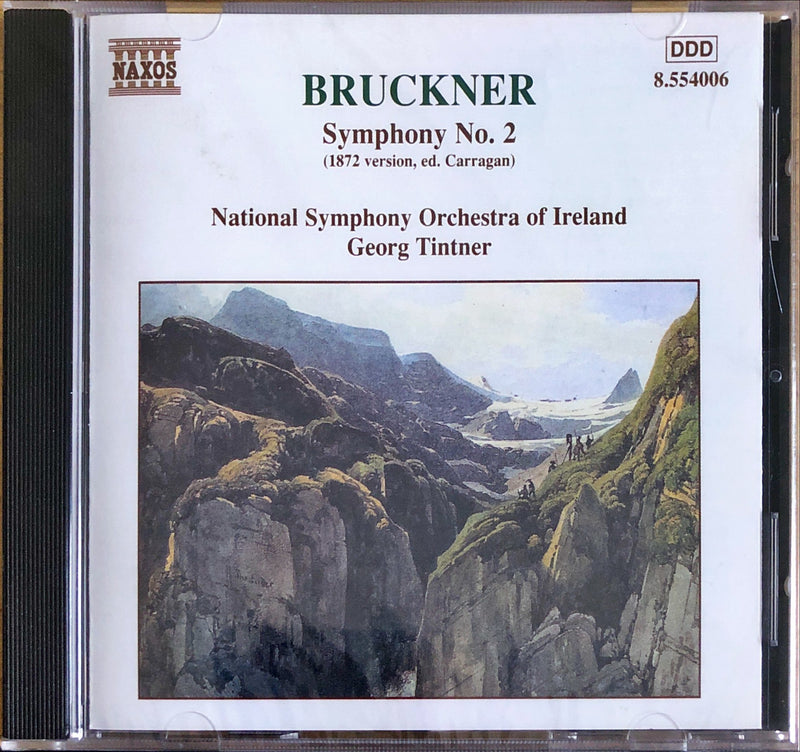 Anton Bruckner - National Syphony Orchestra Of Ireland, George Tintner - Symphony No. 2 (1872 Version)
