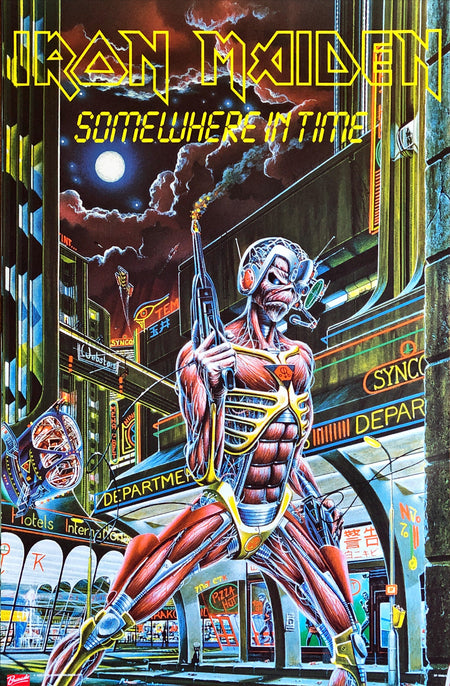 Iron Maiden - Somewhere In Time Poster (61x91.5cm)